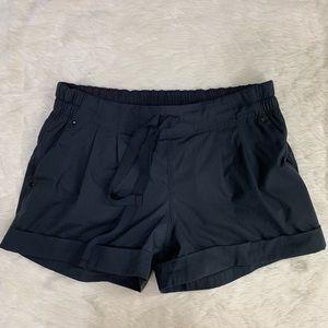 Lululemon Black Shorts Drawstring Poclets